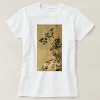 Camisa JAPONESA del ARTE del PERRO