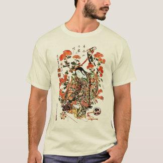 Camisa japonesa fresca del geisha