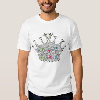 Camisa Jeweled de la corona