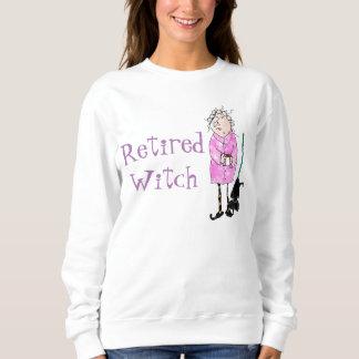 Camisa jubilada de Halloween de la bruja