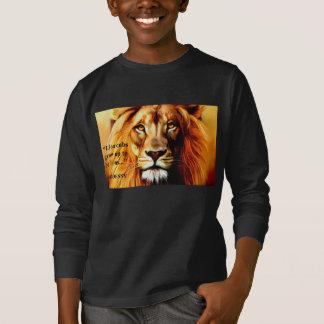 """Camisa larga de Cub del """"león"""" de la manga de los"""