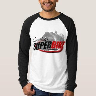 "Camisa larga de la manga ""T"" del Superbike"