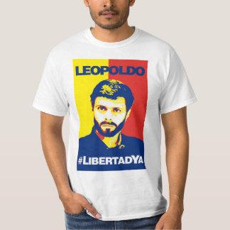 Camisa Leopoldo López #LibertadYA Caballero