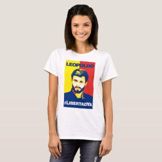 Camisa Leopoldo López #LibertadYA Dama