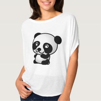 Camisa linda de la panda de los chicas