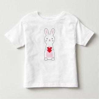 Camisa linda de la tarjeta del día de San Valentín