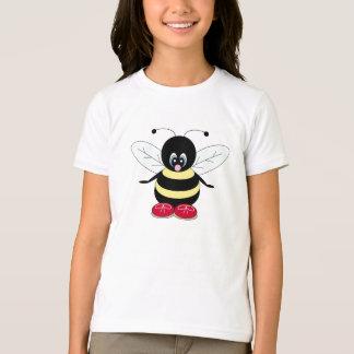 Camisa linda del abejorro