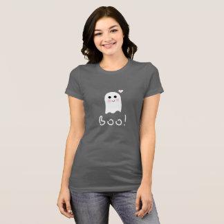 Camisa linda del feliz Halloween del abucheo del