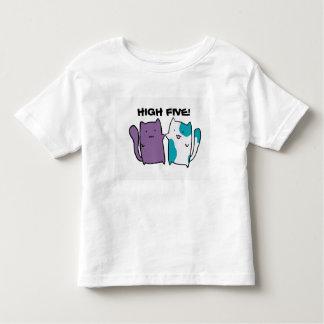 Camisa linda del niño del gatito