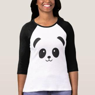 Camisa linda y mimosa de la panda