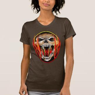 Camisa llameante de la locura
