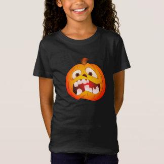 Camisa loca de Halloween de la calabaza