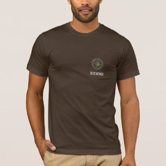 Camisa logoed Geocaching de Camo