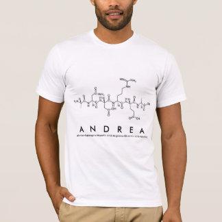 Camisa M del nombre del péptido de Andrea