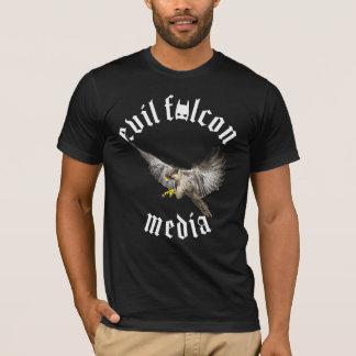 Camisa malvada de los medios del halcón