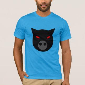 Camisa malvada del cerdo