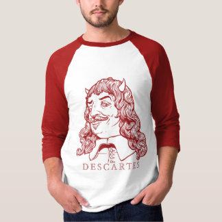 Camisa malvada del demonio de Decartes