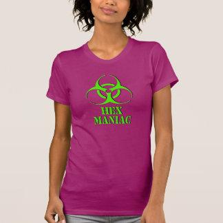 Camisa maniaca del maleficio con símbolo del