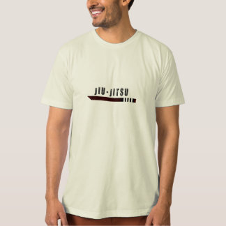camisa marrón de la correa del bjj