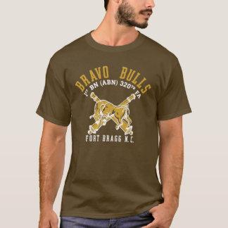 Camisa marrón de la pinta de los toros del bravo