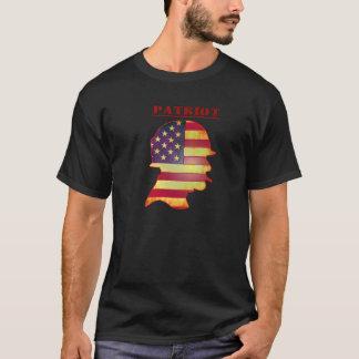 Camisa militar de la bandera americana del