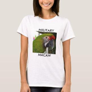 Camisa militar del Macaw