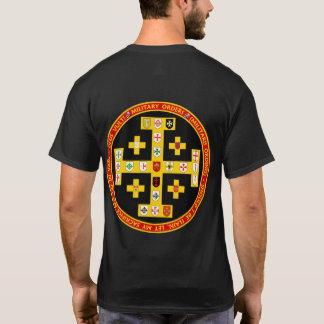 Camisa militar del sello de las órdenes