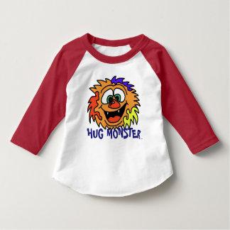 Camisa multicolora del monstruo del abrazo de los