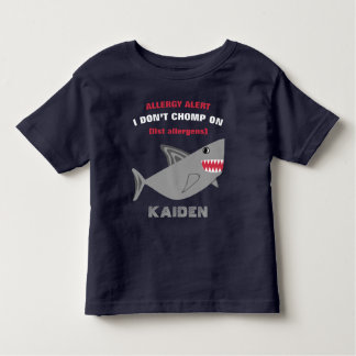 Camisa múltiple del tiburón de la alarma de la