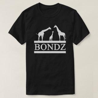 Camisa negra de Bondz con el logotipo blanco