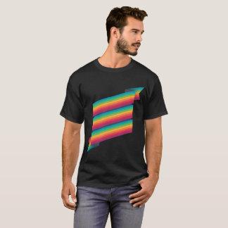 camisa negra de la bandera 6x