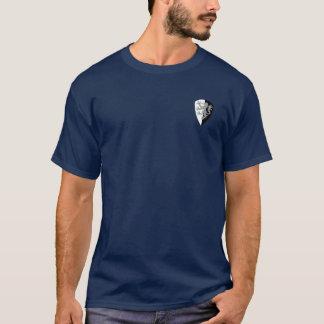 Camisa Negro-n-Blanca de la fecha del mariscal de