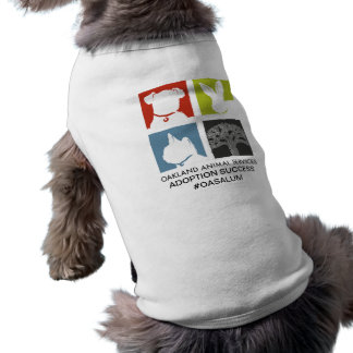 Camisa OASALUM del perro de los servicios animales