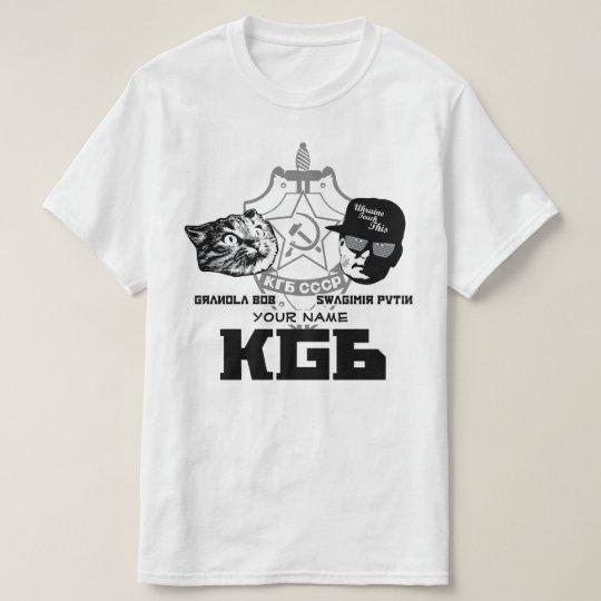 Camisa oficial de Swagimir/de Gbob KGB