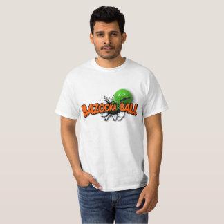 Camisa oficial del logotipo de la bola del bazuca
