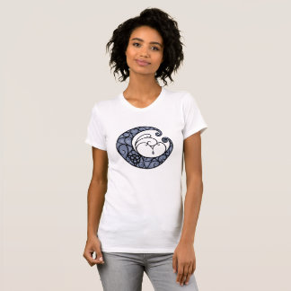 Camisa pagana de la luna