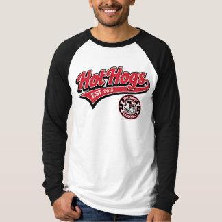 Camisa para hombre clásica caliente del béisbol de