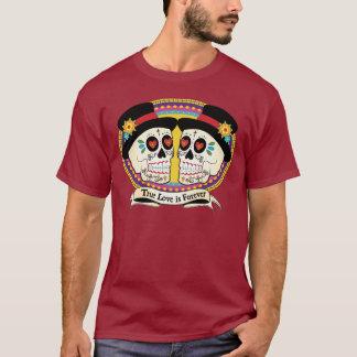 Camisa para hombre del DOS Novios (2 novios)