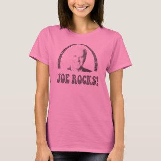 Camisa para mujer de la manga larga de las rocas