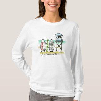 Camisa para mujer de la manga larga de San