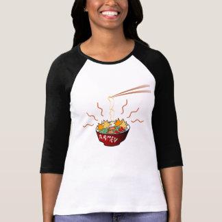 camisa para mujer de los ramen