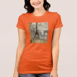 Camisa para mujer de París del vintage