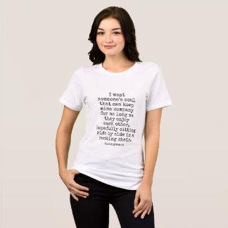 Camisa para mujer quiero alguien alma