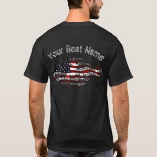 Camisa patriótica de la platija