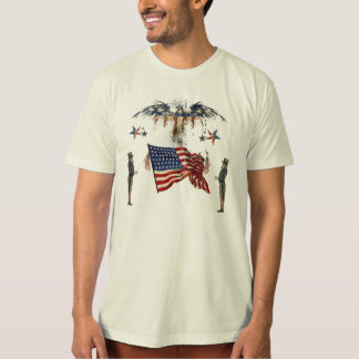 Camisa patriótica única del Día de la