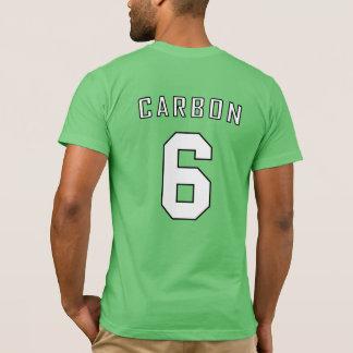 Camisa periódica del equipo: Carbono