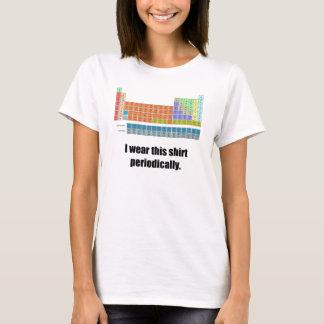 Camisa periódica divertida