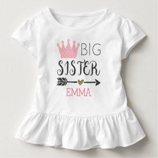 Camisa personalizada de la hermana grande