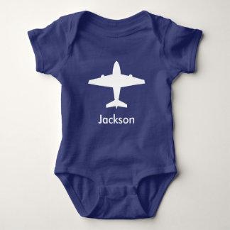 Camisa personalizada del aeroplano para los niños