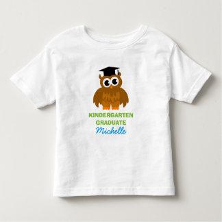Camisa personalizada del graduado de la guardería